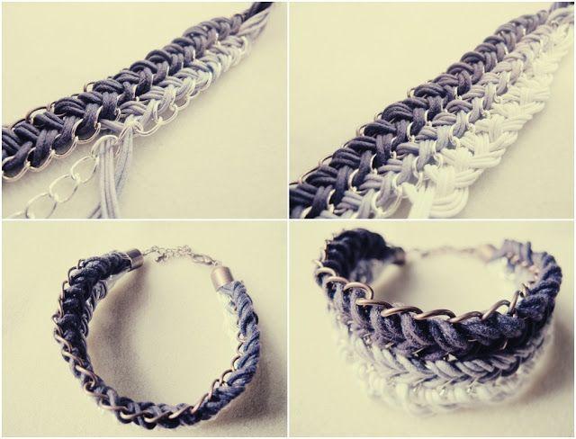 dyi ombre bracelet by #teahab