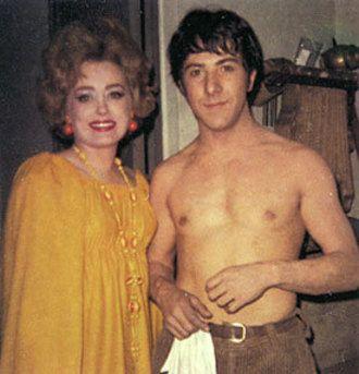 Rue McClanahan, Dustin Hoffman #RueMcClanahan #DustinHoffman