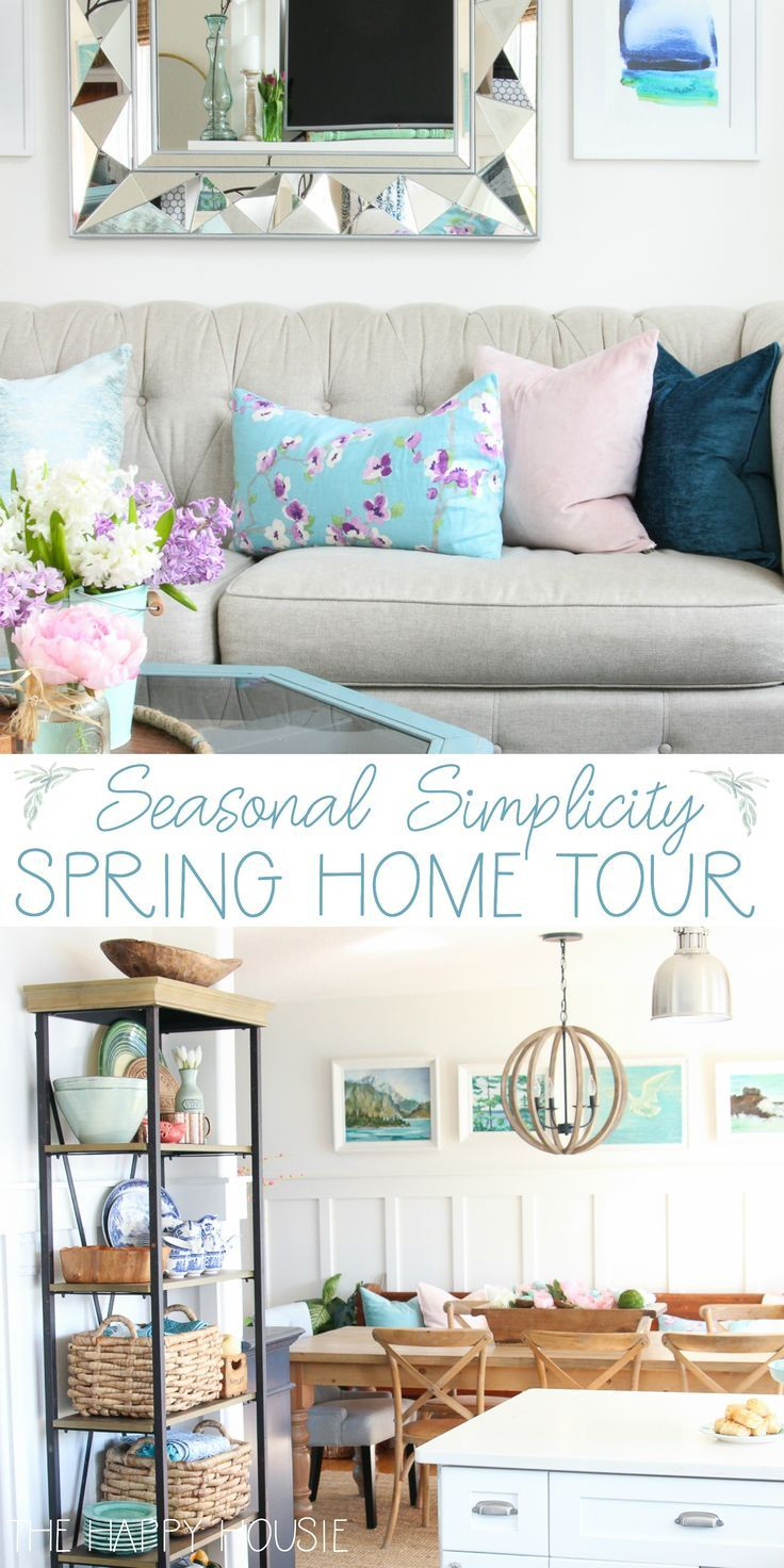 Our Full Spring Home Tour | Coastal, Spring and Decorating