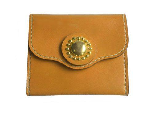 e0ed9360e987 本革コインケース:LOGOS<イエロー> | bag | 革製品、小銭入れ、カード入れ