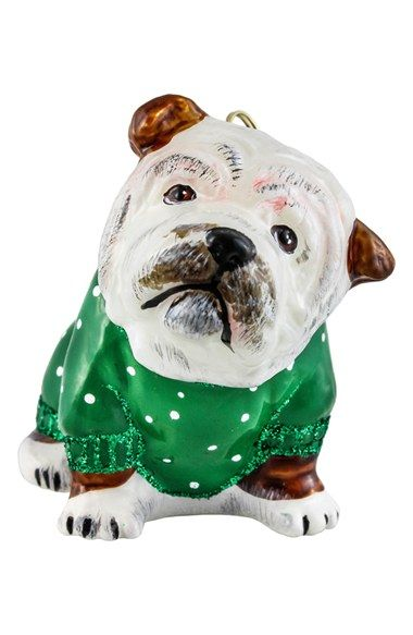 Joy To The World Collectibles Bulldog Ornament Dog Ornaments