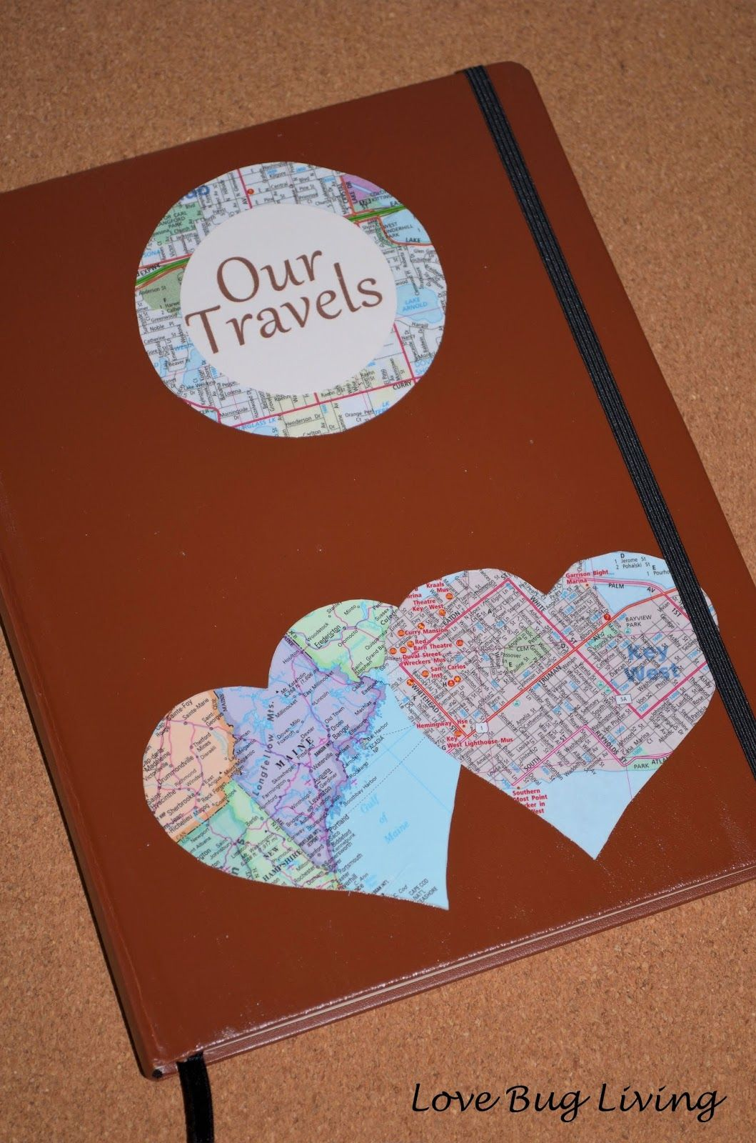 Love Bug Living Honeymoon Travel Journal Gift Great Wedding For The Newlyweds That Like To