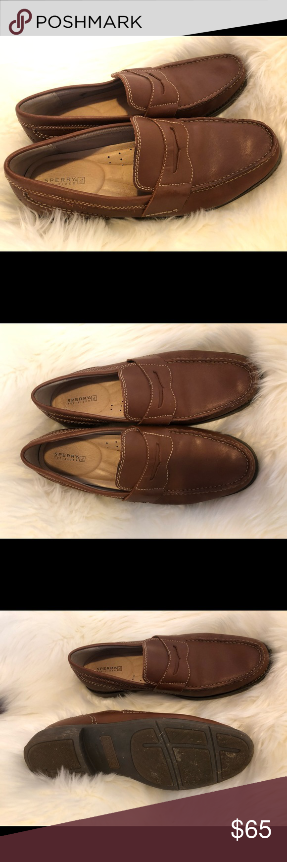 MENS SPERRY PENNY LOAFERS SIZE 11.5 GREAT CONDITION SPERRY Loafers- worn twice, size 11.5 no flaws Sperry Shoes Loafers & Slip-Ons #myposhpicks