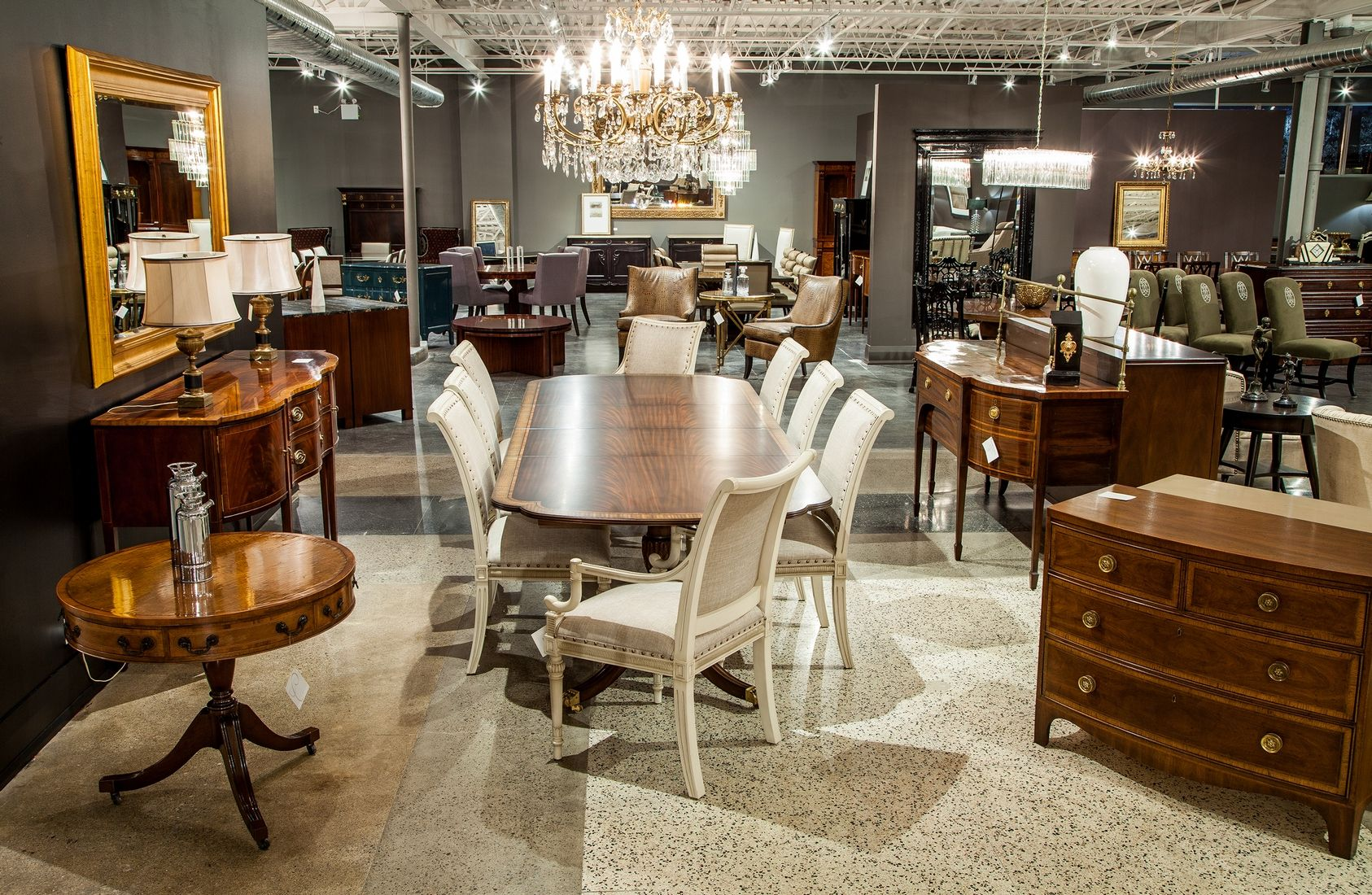 Small Section Of Carrocel Interiors Fine Furniture Showroom