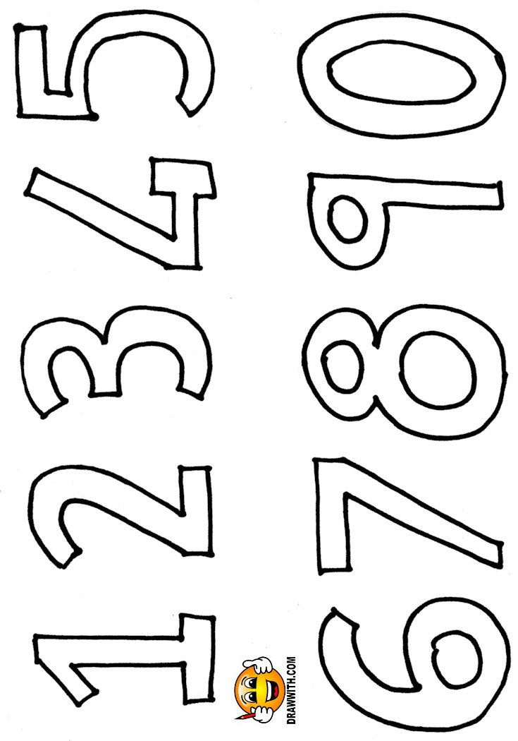 Free Numbers Coloring Pages For Kids Which Includes A Color Along Video Tutorial Coloring Pages For K Coloring Pages For Kids Coloring Pages Coloring For Kids