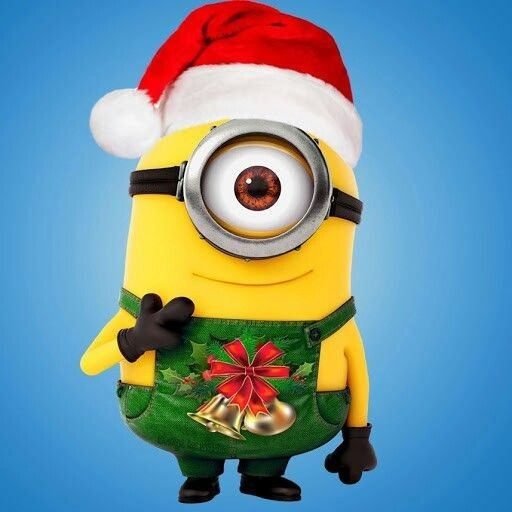 Minion Christmas Ornament _Designed by Bananaboy - Minion Christmas Ornament _Designed By Bananaboy 3D Printed