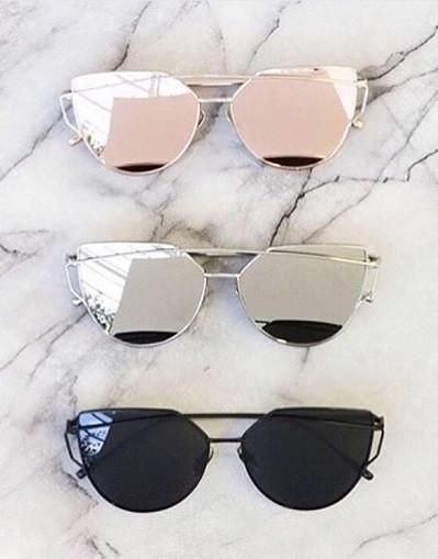 b388bb0ce0f Metal Frame Trendy Sunglasses - Awesome World - Online Store - 15 ...