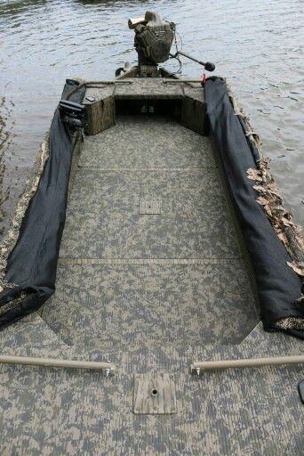 Water Bottle Boat Plans Duck Hunting Boat Duck Boat