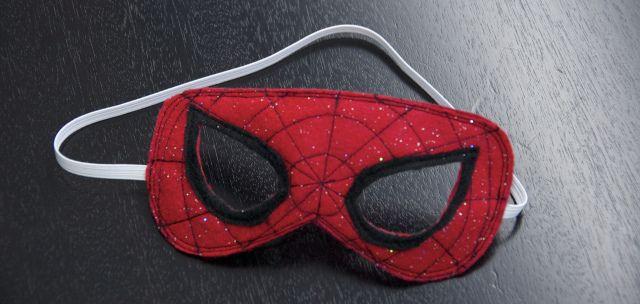 c0045c02c7e8f5 DIY Spiderman Mask