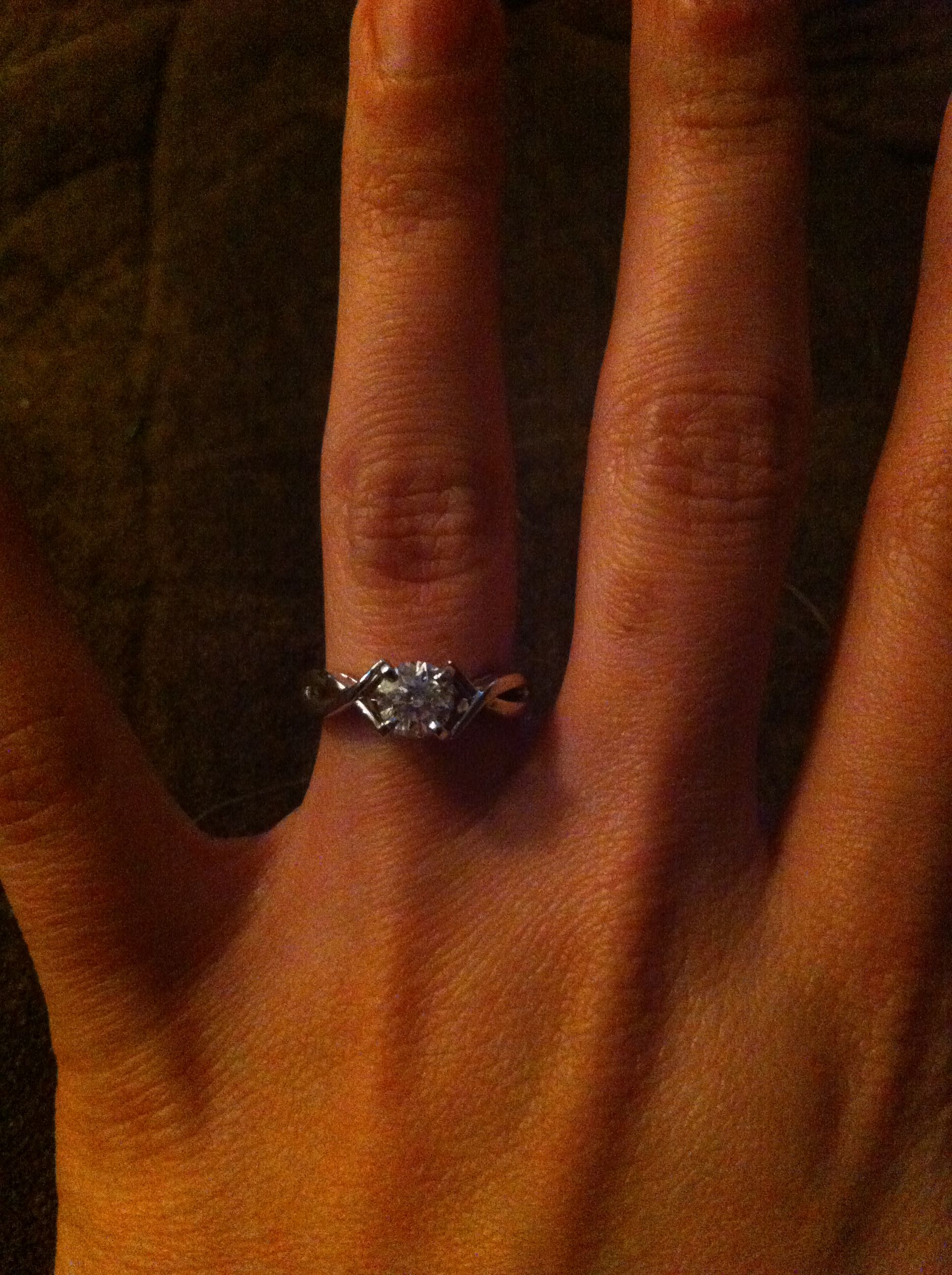 MY engagement ring!!!