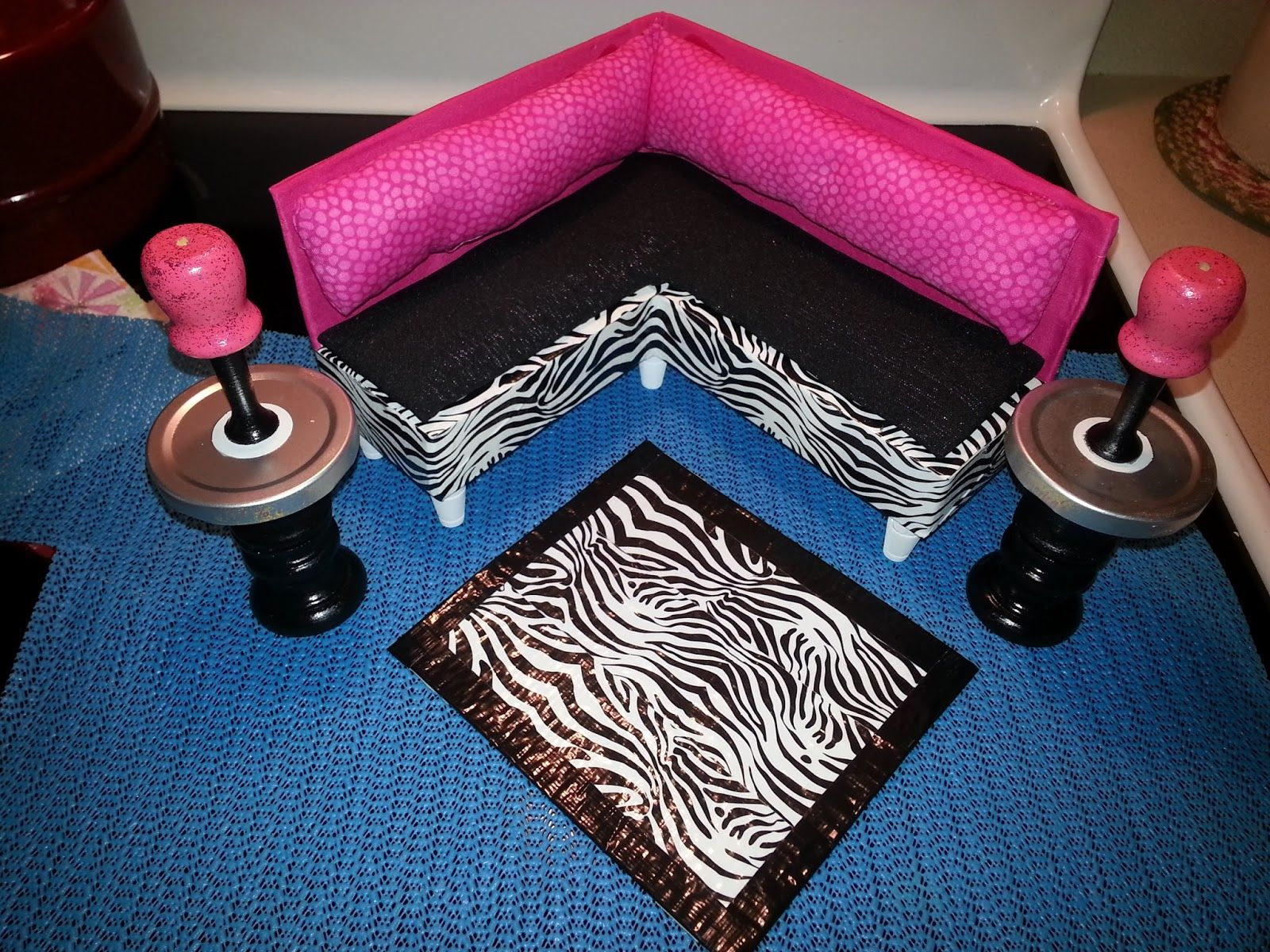 make barbie doll furniture. Simple Livin: DIY Barbie Doll Furniture From A Spaghetti Box Make