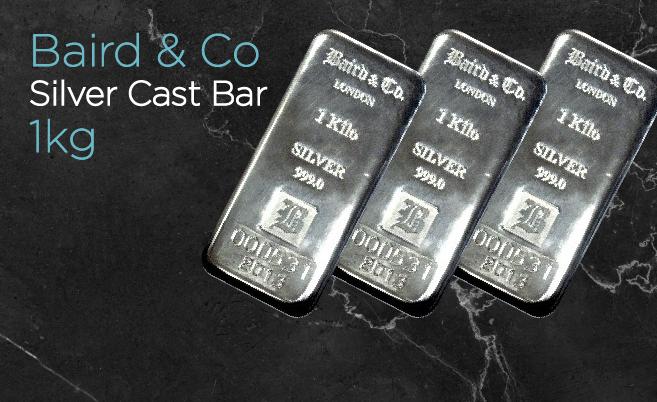 Baird And Co Cast Silver Bar 1kg Http Www Goldstackers Com Au Store Brands Baird Baird 1kg Cast Silver Bar Html Ut Silver Bars Gold Stackers Silver Bullion