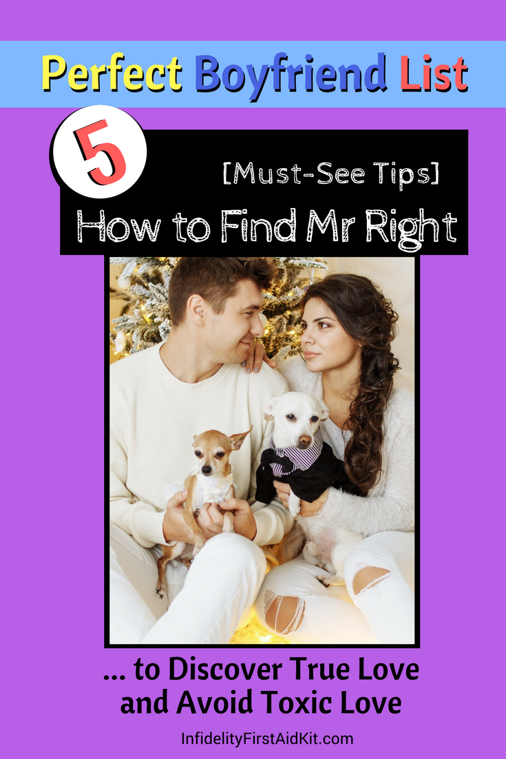 How to find your mr right