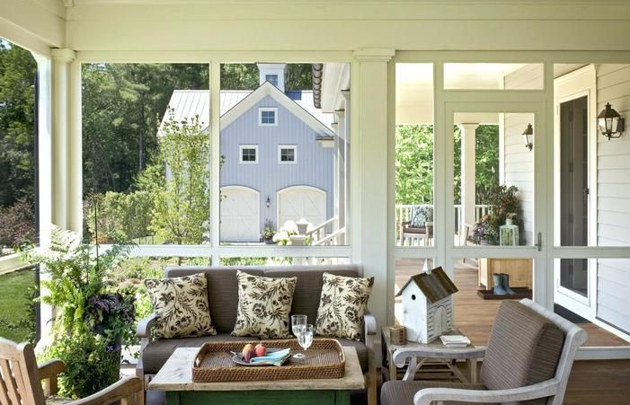 Beautiful Sun Porch Designs Images Ideas Farmhouse Indoor Furniture Porches Attached To Houses Windows Small Diy Plans
