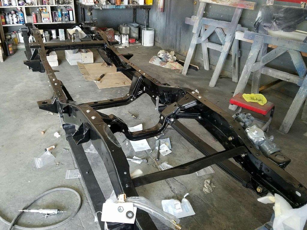 K5 Blazer Restoration Frame Off K5 Blazer Restoration