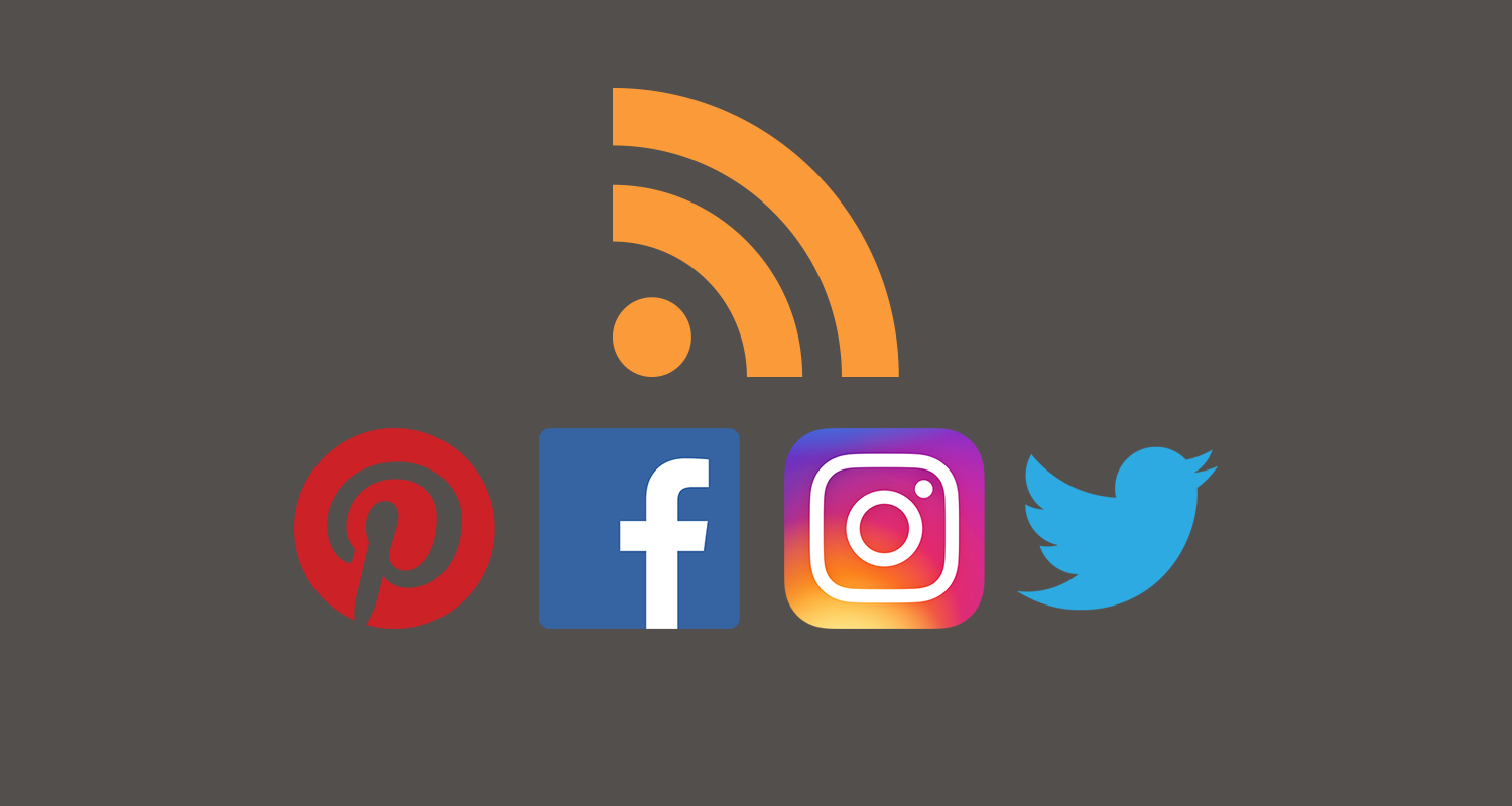 How To Get An Rss Feed For Twitter Instagram Facebook And