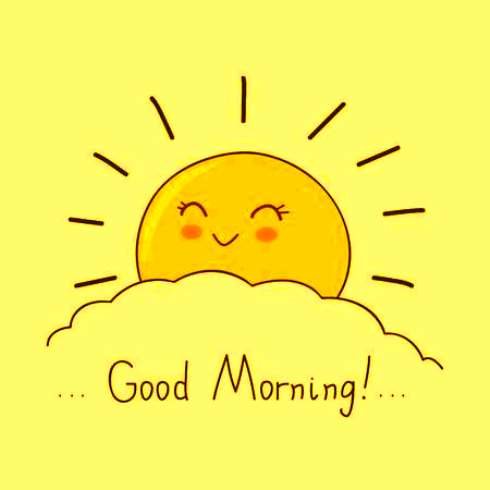 29++ Good morning clipart black and white ideas in 2021