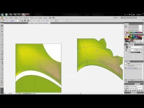 Degradados De Malla En Illustrator Tutorial Youtube Degradado Ilustraciones Disenos De Unas