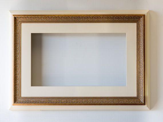 Original Flat Screen TV Frame Wall Decor by InspiredDesignFrames ...