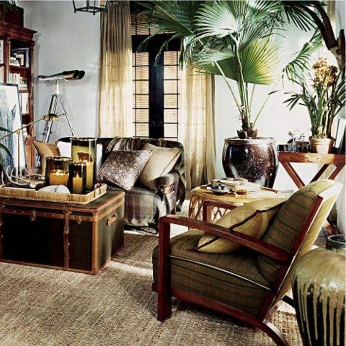 Int rieur classic et tr s chic l 39 aide de meuble colonial deco salas for Interieur maison coloniale