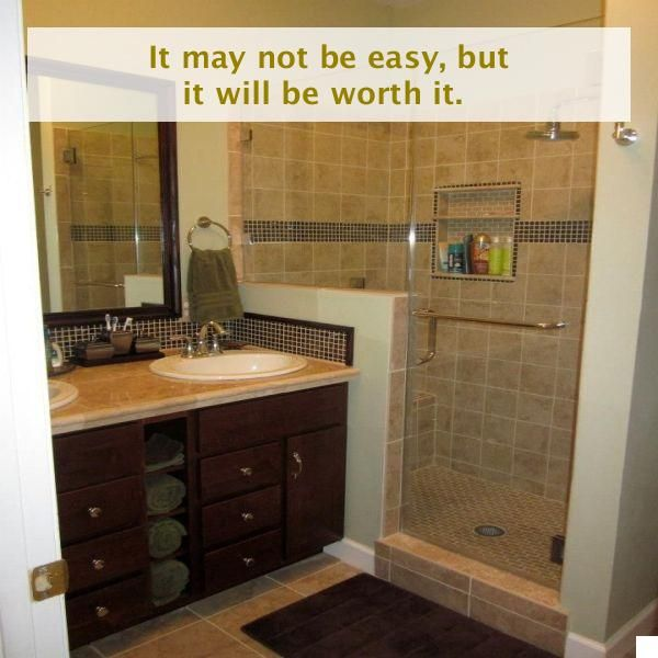 Remodel Your Apartment With Some Cool Do It Yourself Ideas Quickly In 2020 Small Bathroom Remodel Small Bathroom Diy Diy Bathroom Remodel