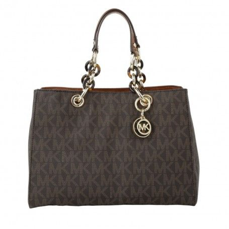 Michael Kors Tasche – Cynthia MD Satchel Brown – in braun