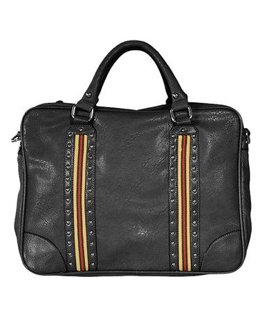 0b686a318e8835 Loving this Black Dalia Satchel on #zulily! #zulilyfinds ...