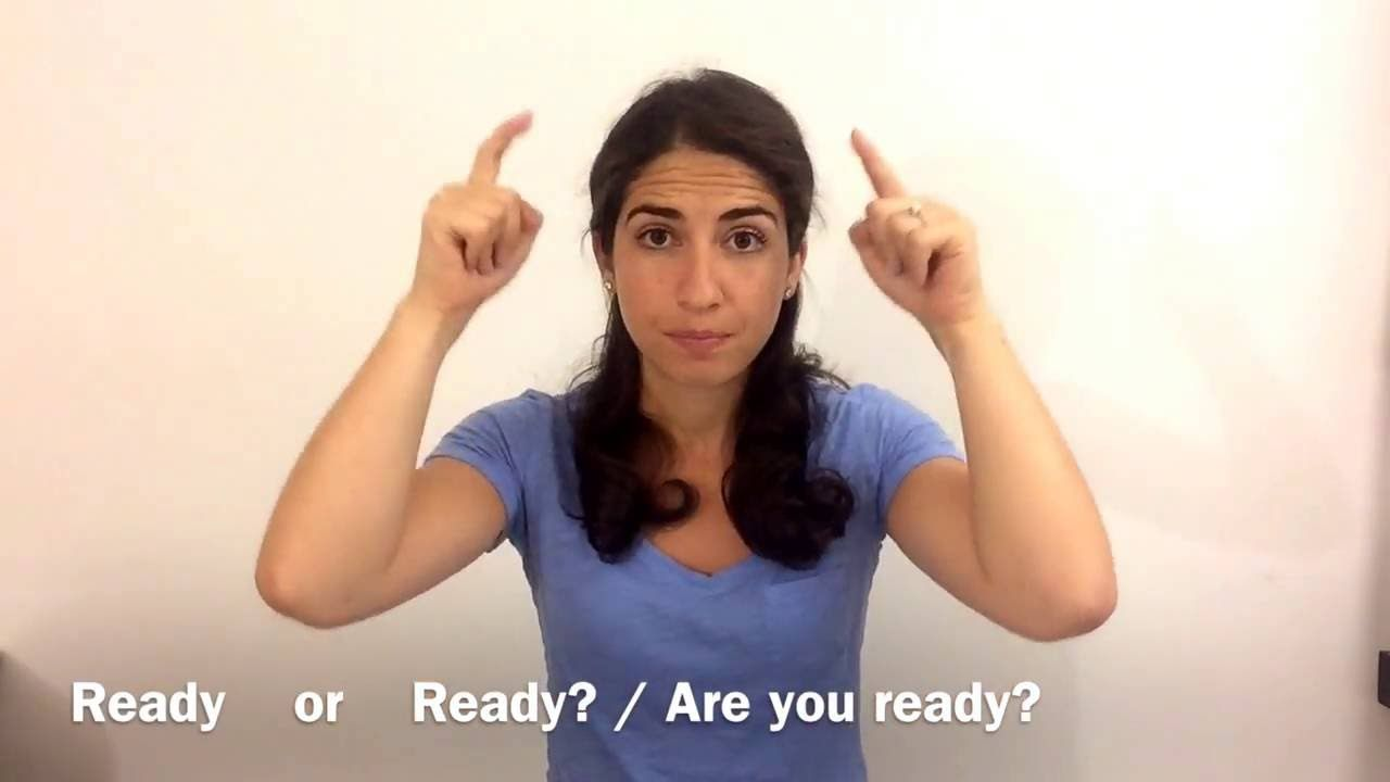 Learn ASL: How to sign STAY and TODAY / NOW (One-Min Fix)   ASL ...