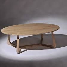 Image result for oval coffee table tasmanian oak