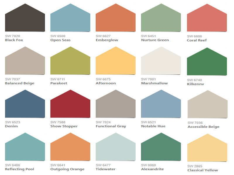 interior color combination house paint most popular on best interior paint color combinations id=37792