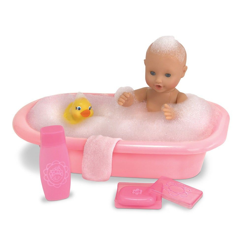 Melissa Doug Mine To Love Baby Doll Bathtub And In 2020 Waschlappen