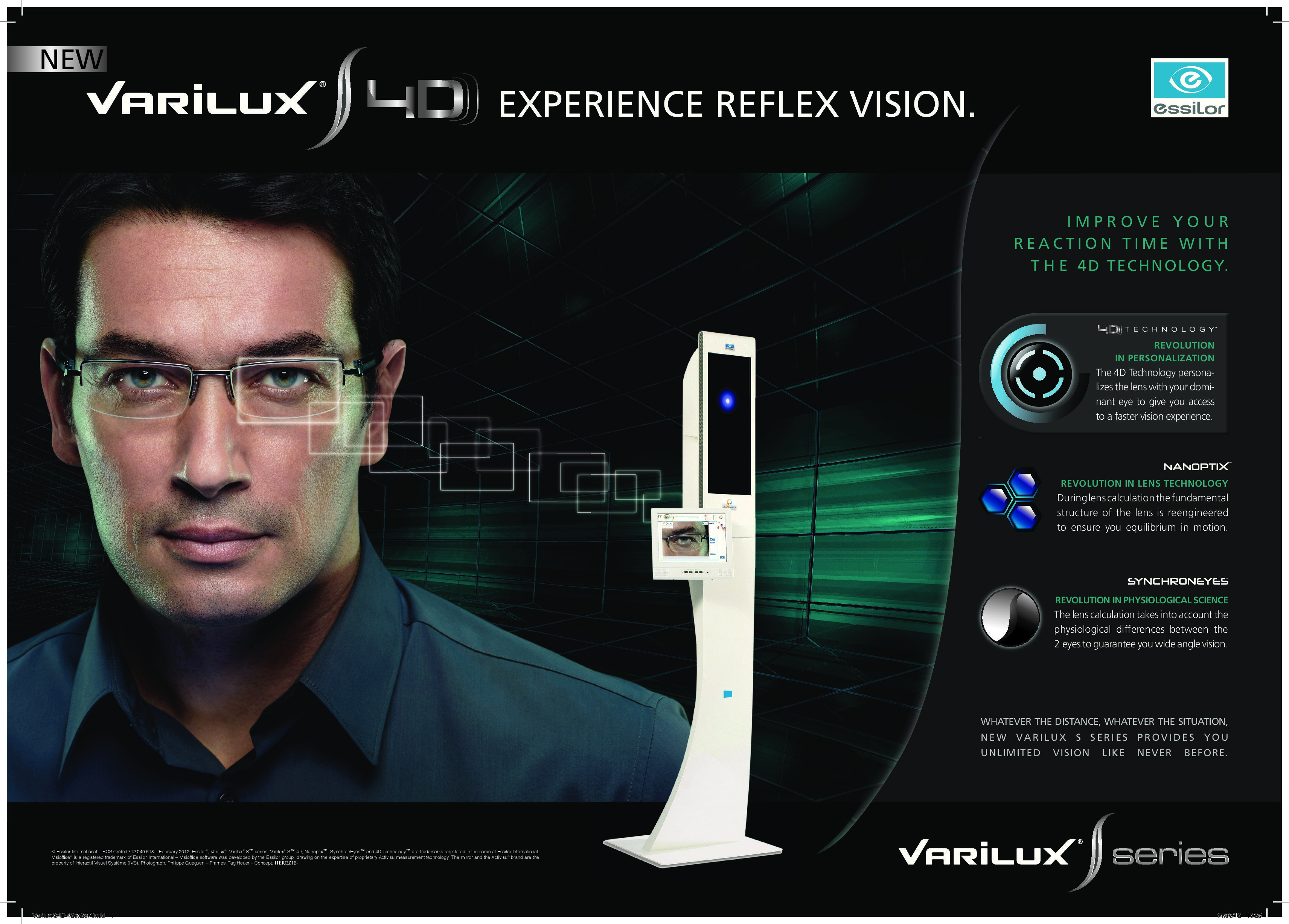 560b24a44a3e Varilux S 4D - Award winning progressive lenses that give you wide field of  vision