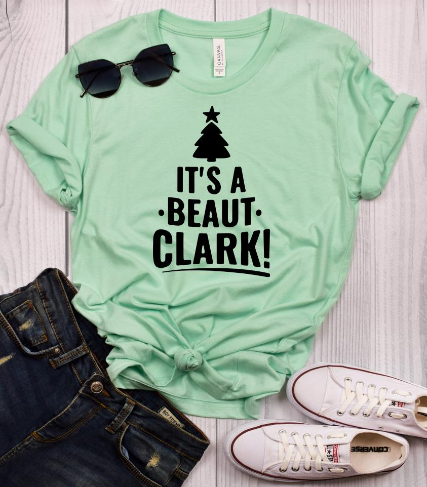It's a Beaut Clark - Christmas Vacation T-Shirt - Mint / M