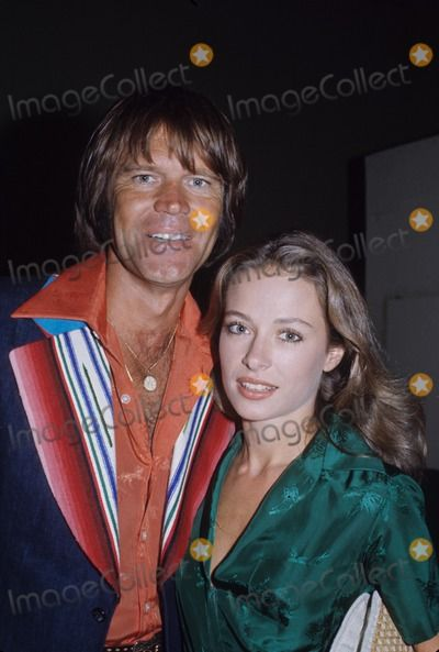Glen Campbell Photo Glen Campbell With Wife Saral 1977
