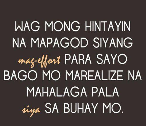 Tagalog Sad Love Quotes Tagalog Qoutes Pinterest Sad Love