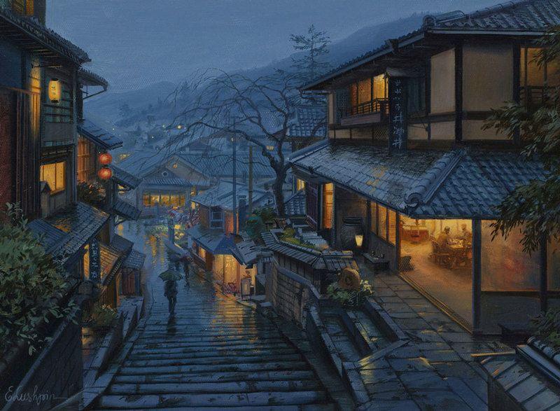 old kyoto landscape prints - Google Search