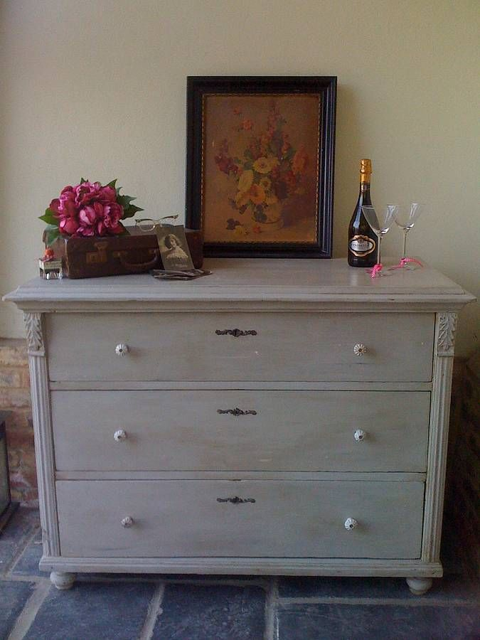 Sm Vintage Chest Of Drawers