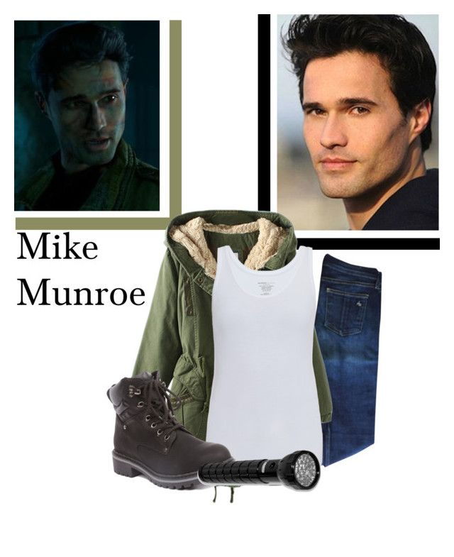 """""""Mike"""" by jen-the-glader ❤ liked on Polyvore featuring rag & bone, Majestic, Forever Collectibles, GREEN, Mike and untildawn"""