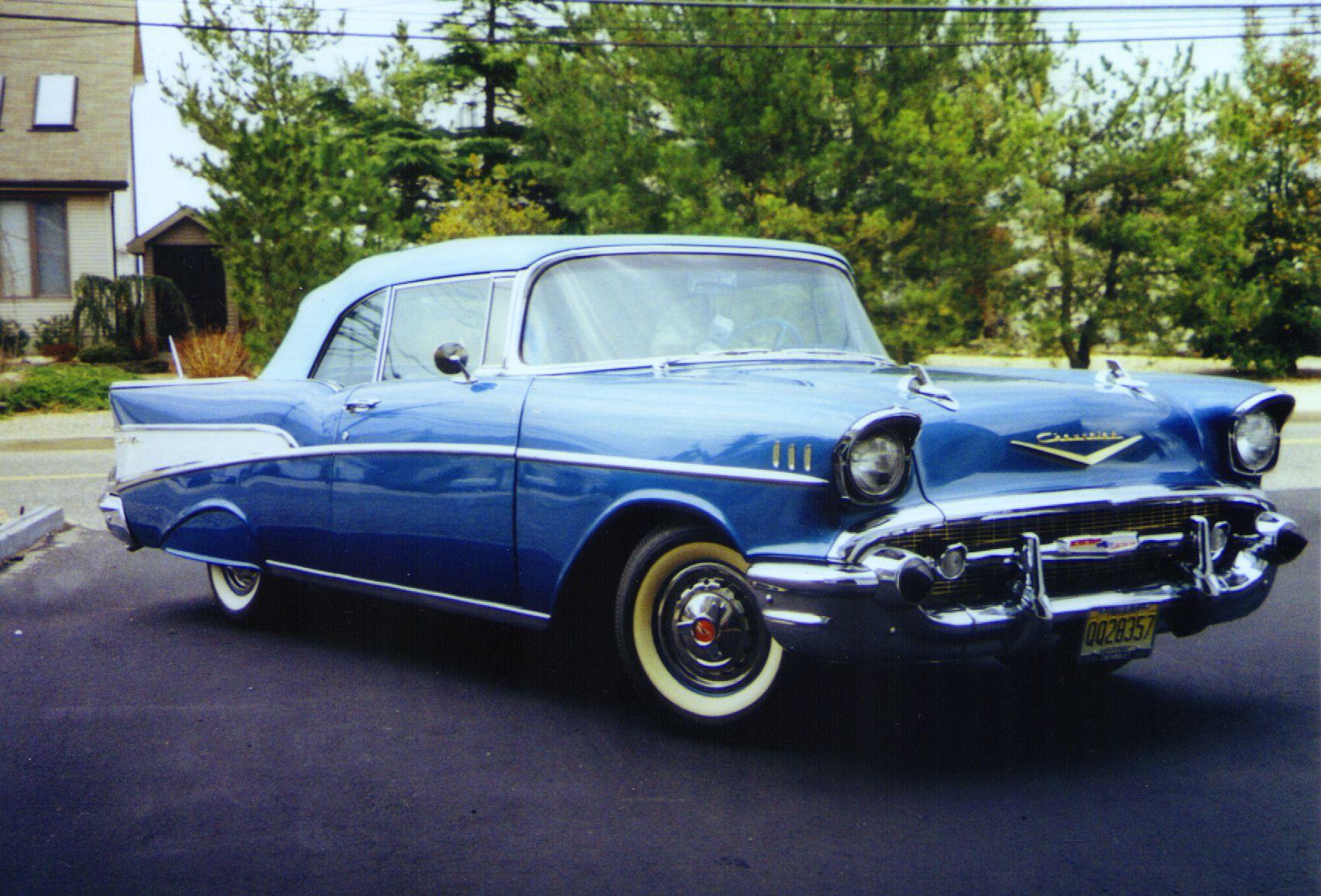 57 chevy   1957 Chevy Belair Convertible   Pimp my (dream rides ...