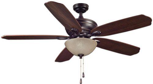 Turn Of The Century Langham 52 In Oil Rubbed Bronze Ceiling Fan