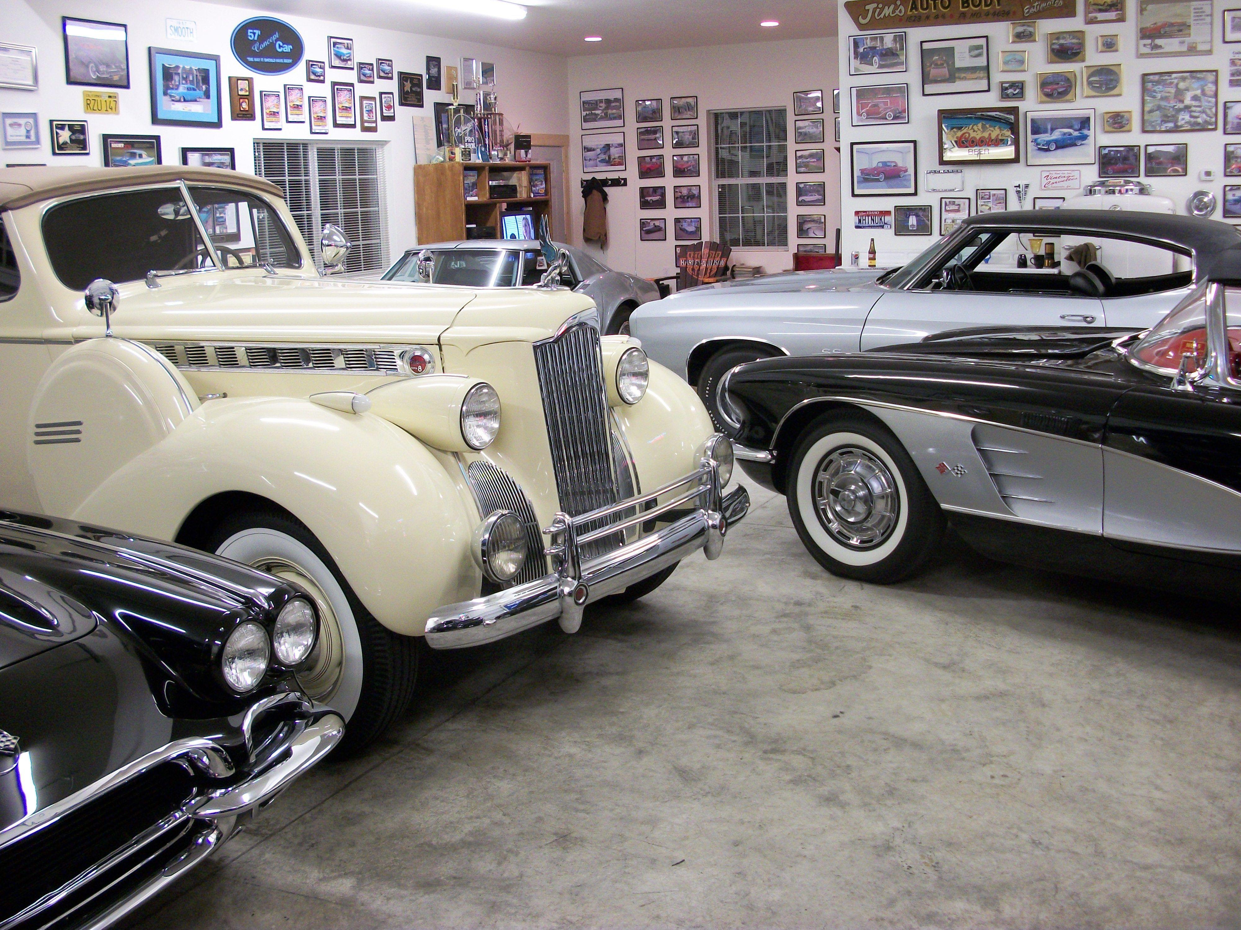 Antique Car Garage 2