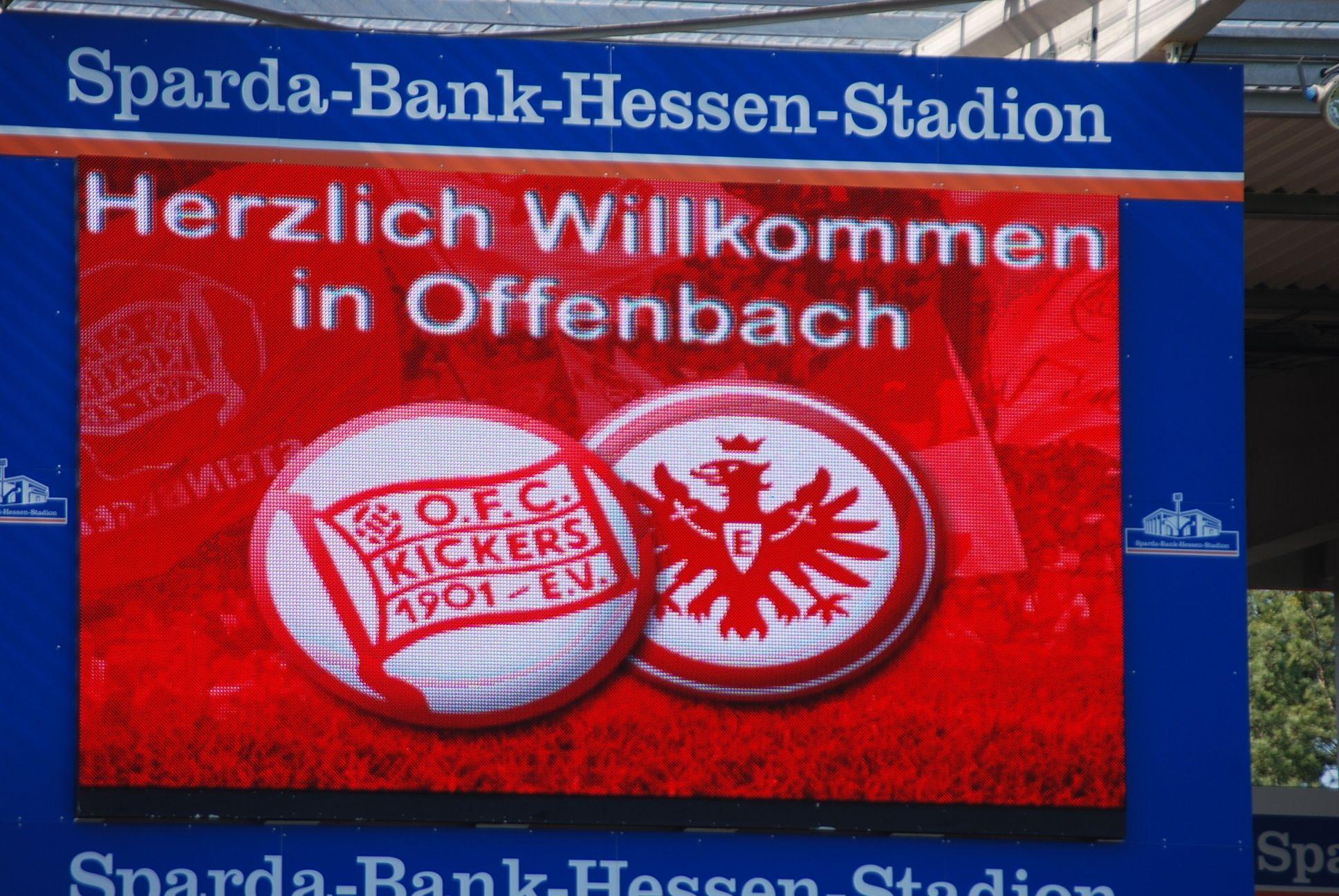 Lokalderby Kickesrs Eintracht Ii Eintracht Derby Herzlich