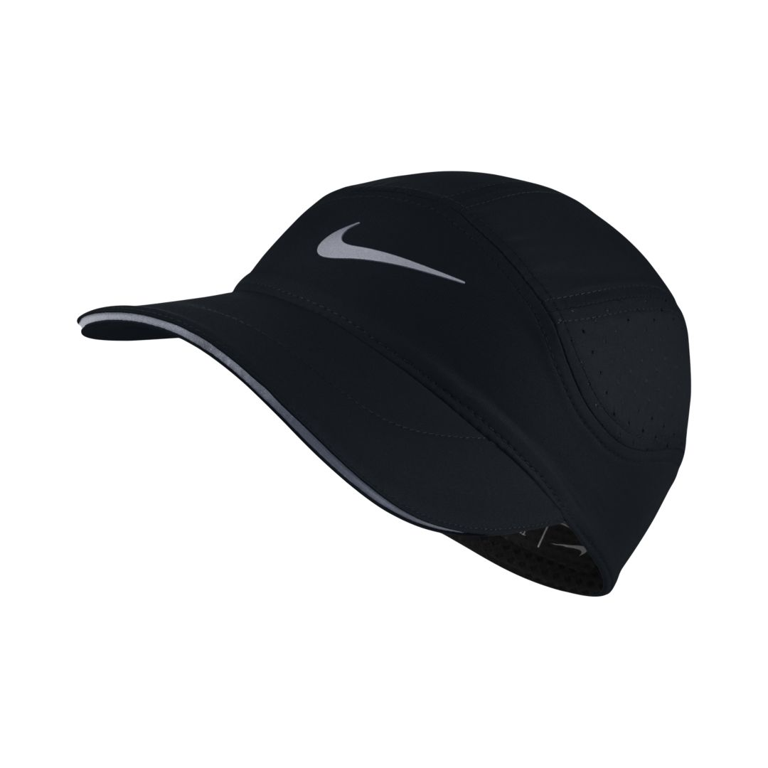 d8d35bf4f6c Nike AeroBill Women s Running Hat Size ONE SIZE (Black)