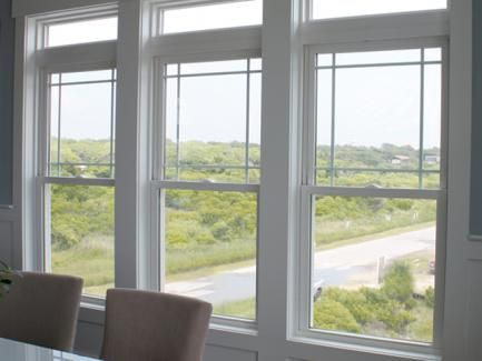 Prairie Style Windows With Transom Viwinco Oceanview Single Hung Grids