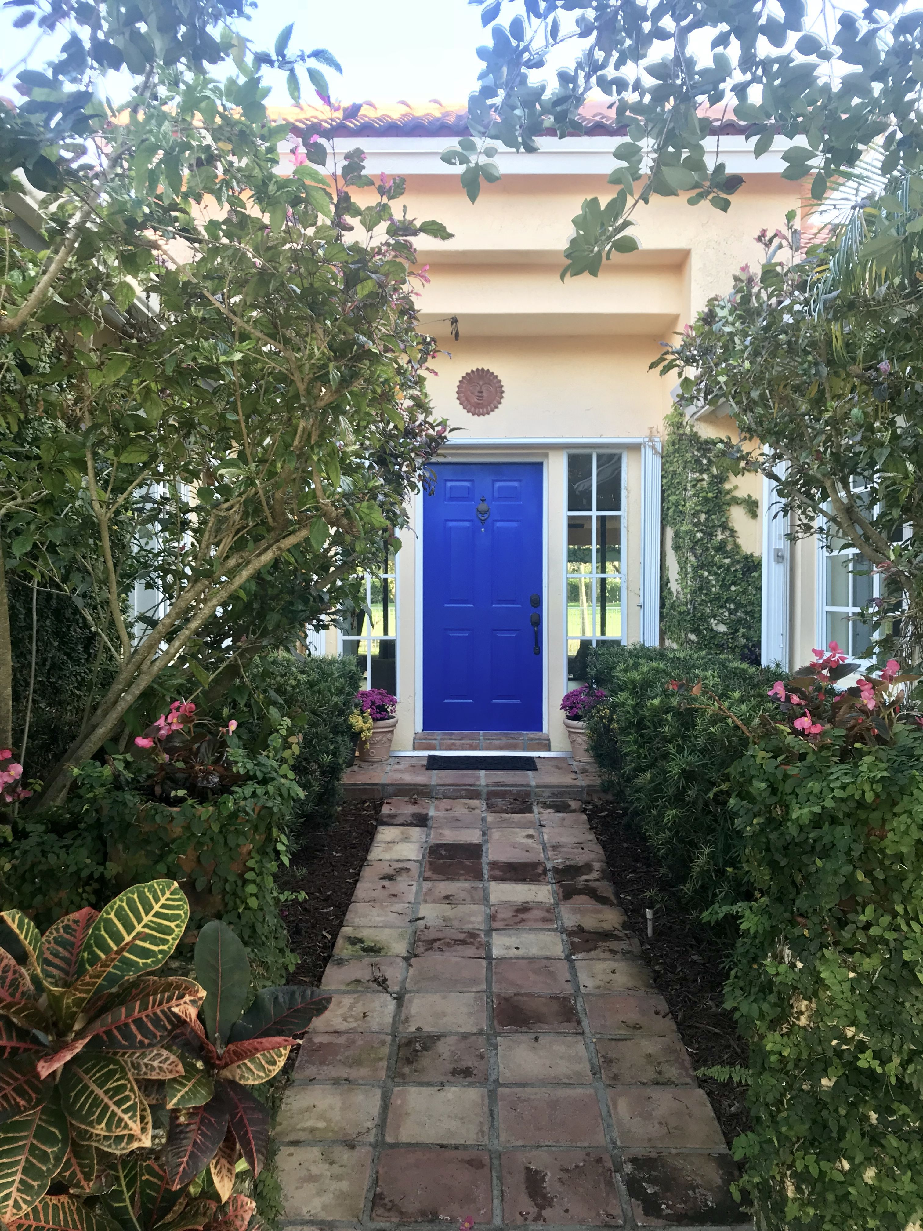 Love It Florida Style: Behr Beacon Blue. The Color Of My Front Door Now. So