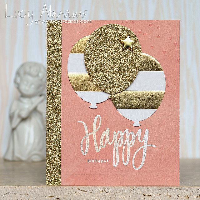 Photo Cricut Birthday Cards Happy Handmade