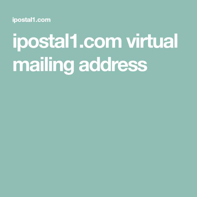 ipostal1 com virtual mailing address | Camper/ Future plans