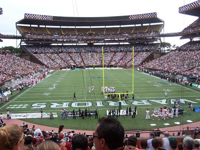 Aloha Stadium - University of Hawaii, Honolulu, HA  | college