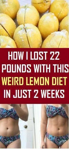 How I Lost 22 Pounds with This Weird Lemon Water Diet in Just 2 Weeks #fitness #beauty #hair #workou...
