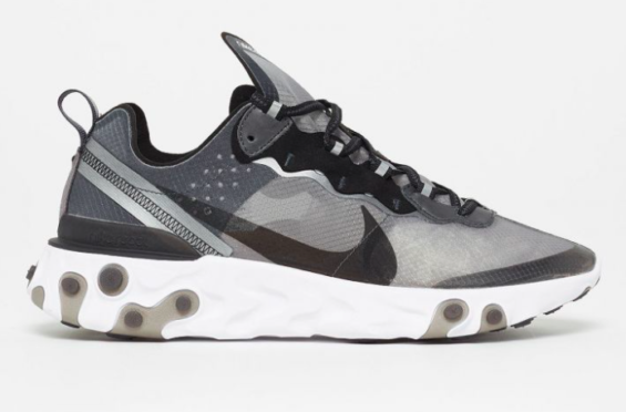 590312678f4f Nike React Element 87 Black White Dropping Stateside Next Month The Nike  React Element 87 is